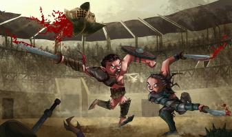 Spartacus VS Gannicus